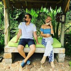 Risto Mejide y Laura Escanes disfrutando de su luna de miel en Tailandia
