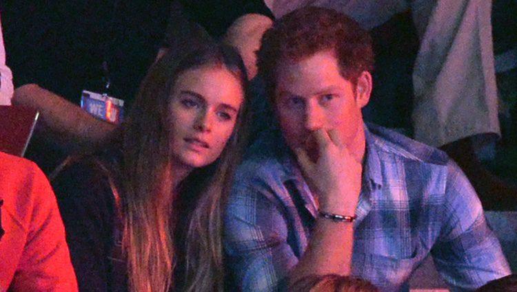 El Príncipe Harry de Inglaterra y Cressida Bonas cuando eran pareja