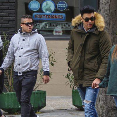 Gloria Camila pasea con Kiko Jiménez, Rocío Flores y José Fernando en Madrid