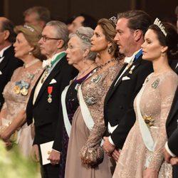 La Princesa Magdalena de Suecia, el Príncipe Carlos Felipe, Sofia Hellqvist y otros miembros de la familia Real en los Premios Nobel 2017