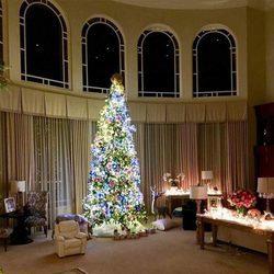 El increíble árbol de Navidad de Britney Spears