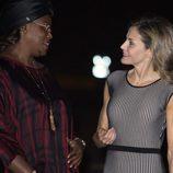 La Reina Letizia y la Primera Dama de Senegal, muy cómplices en Dakar