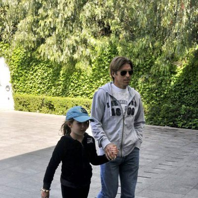 Alba Díaz de niña con su padre, Manuel Díaz 'El Cordobés'