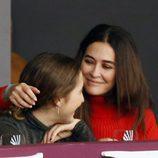 Vicky Martín Berrocal, muy cariñosa con su hija Alba