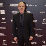 Javier Gutiérrez en la entrega de los Premios Ondas 2017
