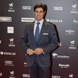 Fran Rivera en la entrega de los Premios Ondas 2017