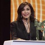 Isabel Gemio agradeciendo su Premio Ondas 2017