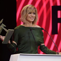 Susanna Griso agradeciendo su Premio Ondas 2017