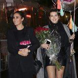 Alba Díaz con Vicky Martín Berrocal en su 18 cumpleaños