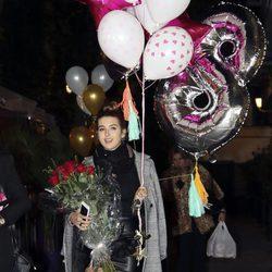 Alba Díaz en la celebración de su 18 cumpleaños