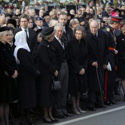 La realeza europea en el funeral de Miguel de Rumanía