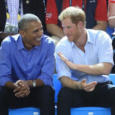 El Príncipe Harry y Barack Obama en los Invictus Games 2017
