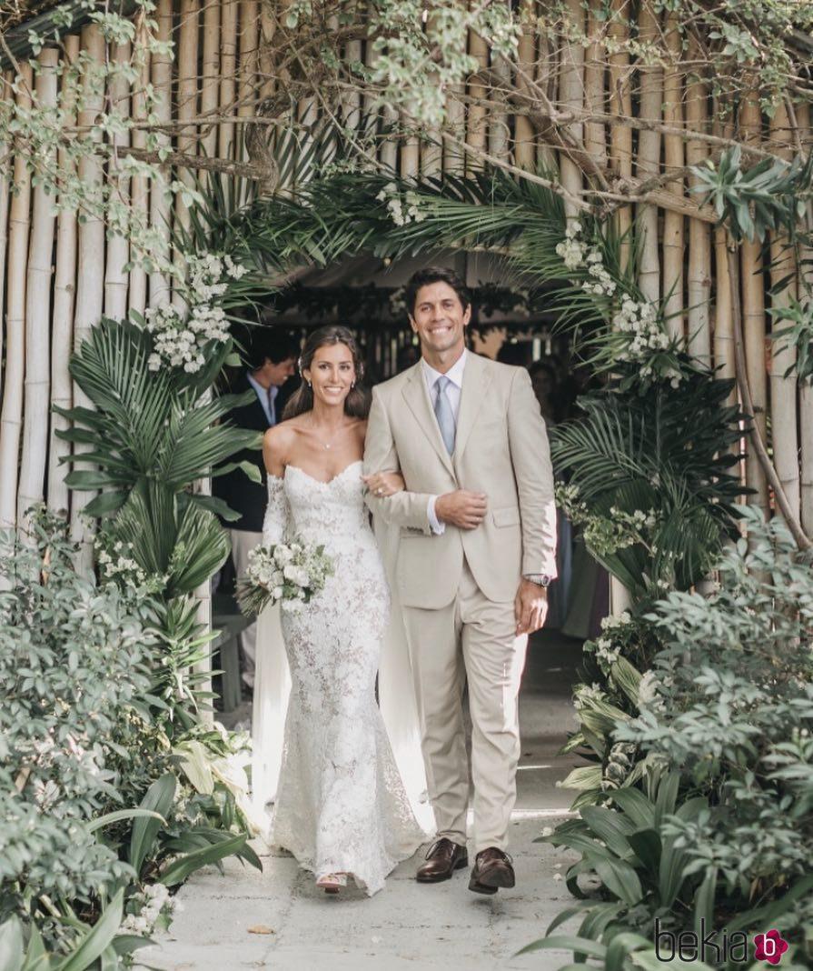 Ana Boyer y Fernando Verdasco en su boda