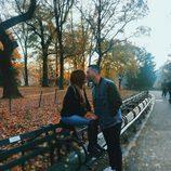 Chabelita y Alberto Isla en un viaje a Nueva York