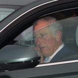 El Príncipe Carlos en el almuerzo de Navidad 2017 en Buckingham Palace