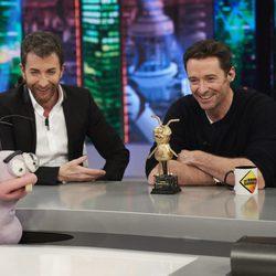 Hugh Jackman presenta 'El gran showman' en 'El Hormiguero'