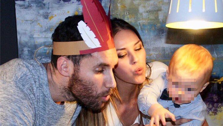 Rudy Fernández y Helen Lindes celebran el primer cumpleaños de su hijo Alan