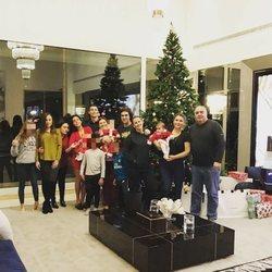 Cristiano Ronaldo junto a su familia en Navidad