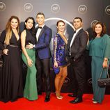 CR7, Georgina Rodríguez, Katia y Dolores Aveiro y demás personas en la fiesta organizada por el futbolista