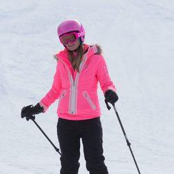 Paris Hilton en la nieve