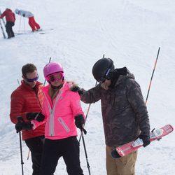Paris Hilton, jornada de esquí en Aspen