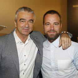 Carles Francino padre e hijo en los Premios Alfonso Sánchez de Comunicación 2017