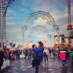 Isco Alarcón y Sara Sálamo de viaje en Londres