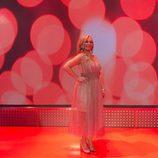 Belén Esteban en el programa especial de 'Sálvame' en Nochevieja