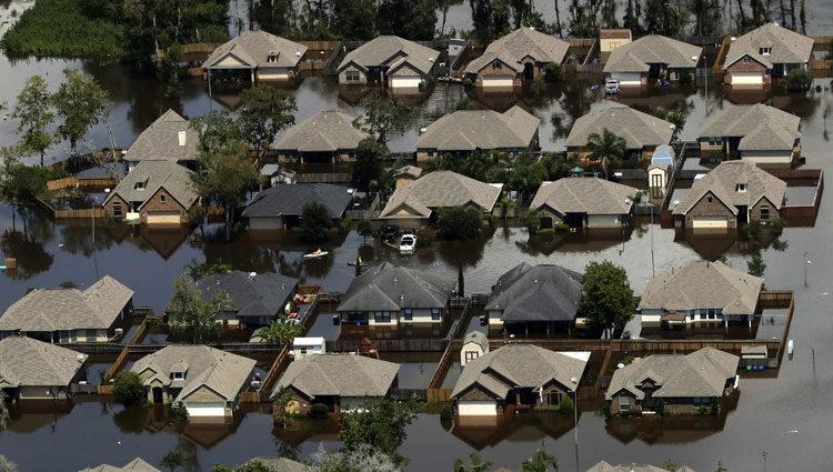 Desastre tras el huracán Harvey