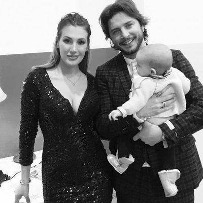 Manuel Carrasco, Almudena Navalón y la pequeña Chloe