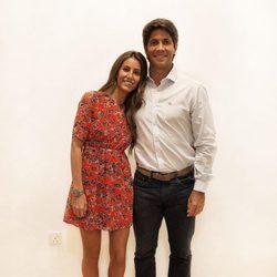 Ana Boyer y Fernando Verdasco celebrando juntos la Nochevieja