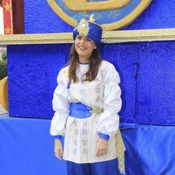 Cayetana Rivera vestida de paje del Rey Baltasar en Sevilla