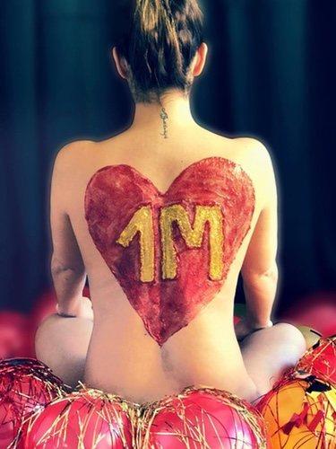 Tamara Gorro se desnuda para celebrar el millón de seguidores en su cuenta de Instagram