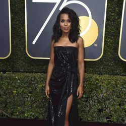 Kerry Washington en los Globos de Oro 2018