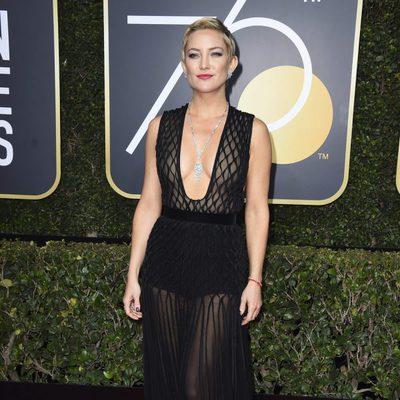 Kate Hudson el los Globos de Oro 2018