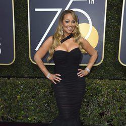 Mariah Carey en los Globos de Oro 2018