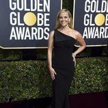 Reese Witherspoon en la alfombra roja de los Globos de Oro 2018