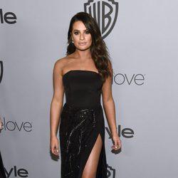 Lea Michele en la fiesta InStyle tras los Globos de Oro 2018