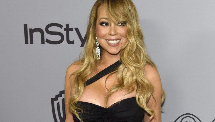Mariah Carey en la fiesta InStyle tras los Globos de Oro 2018