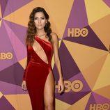 Blanca Blanco en la fiesta HBO tras los Globos de Oro 2018