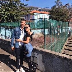 Georgina Rodríguez y Cristiano Ronaldo en Madeira