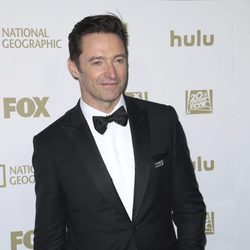 Hugh Jackman en la fiesta Fox tras los Globos de Oro 2018