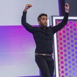 Roberto Leal bailando en la gala 10 de 'OT 2017'