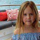 Josefina de Dinamarca en un barco en Australia