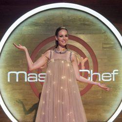 Eva González muy guapa en la final de 'MasterChef Junior 5'
