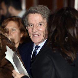 Alfonso Díez en el concierto de Carla Bruni en Madrid
