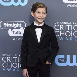 Jacob Tremblay en la alfombra roja de los Critics' Choice Awards 2018