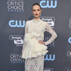 Kate Bosworth en la alfombra roja de los Critics' Choice Awards 2018
