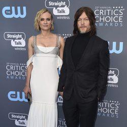 Diane Kruger y Norman Reedus en la alfombra roja de los Critic's Choice Awards 2018