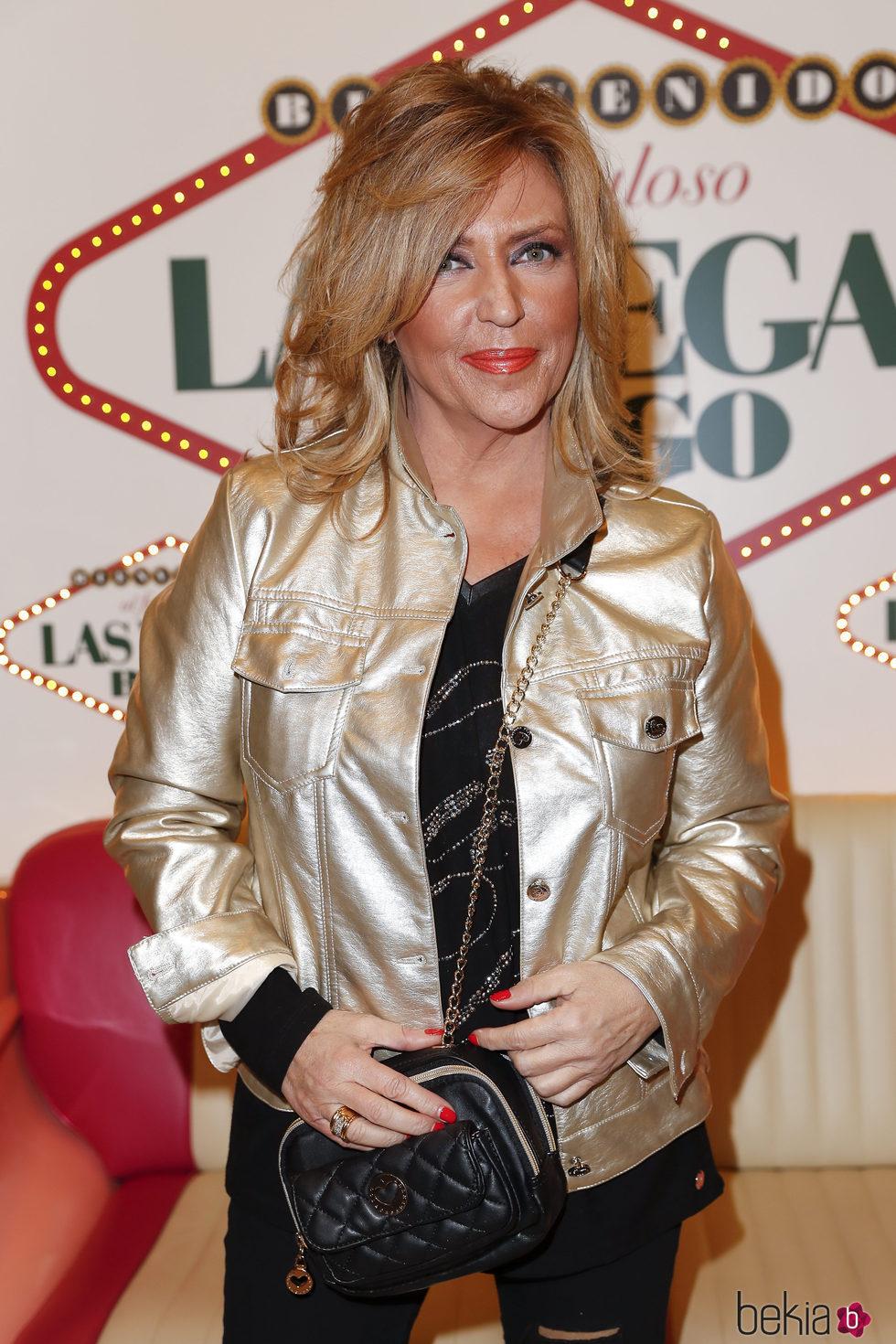 Lydia Lozano en la fiesta de 'Sálvame' en Bingo Las Vegas